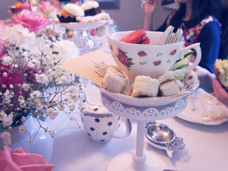 mini food and tea