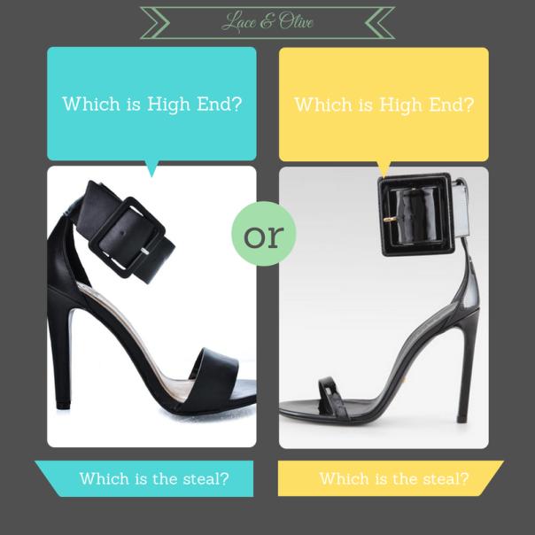 Gucci Victoire vs Sully Ankle Cuff Stiletto