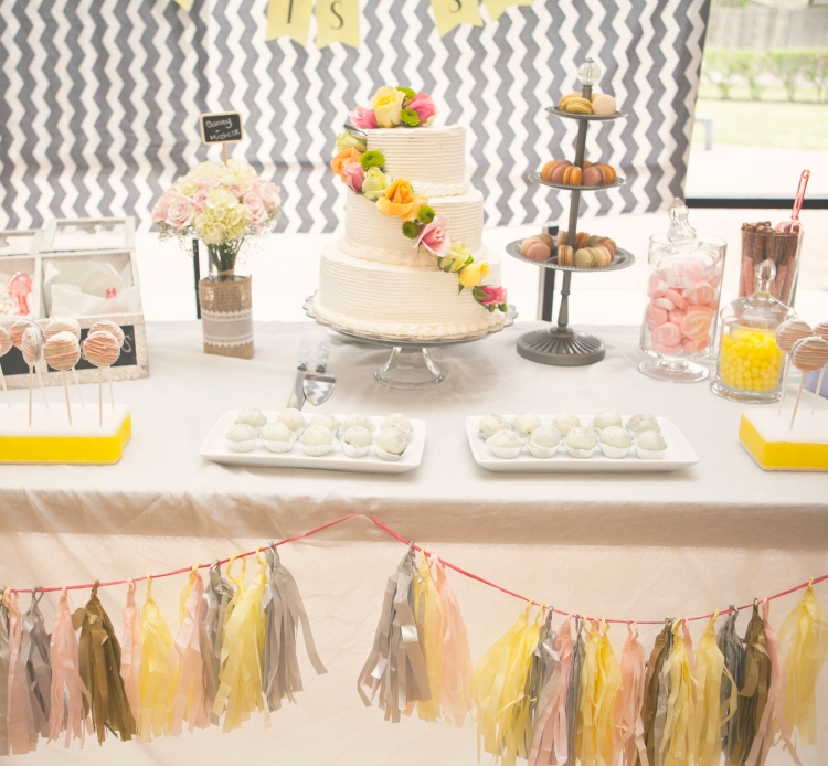 candy dessert table