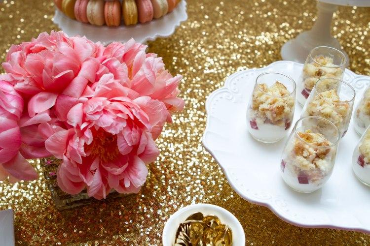 Parisian dessert table