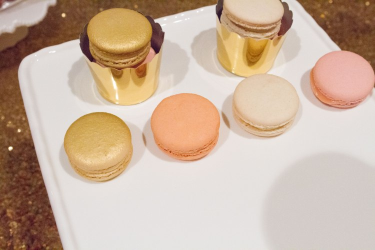 Custom macaron towers from Bite Macarons in Houston